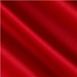 Satin Solid Scarlet