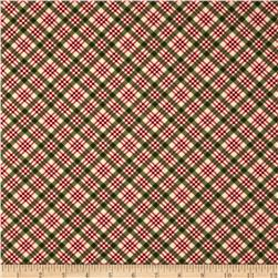 Home For the Holidays Plaid Natural