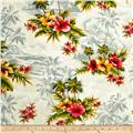 Hoffman Tropical Collection Hibiscus & Palm Tree Silver