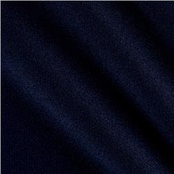 Microbrushed Ponte Knit Navy