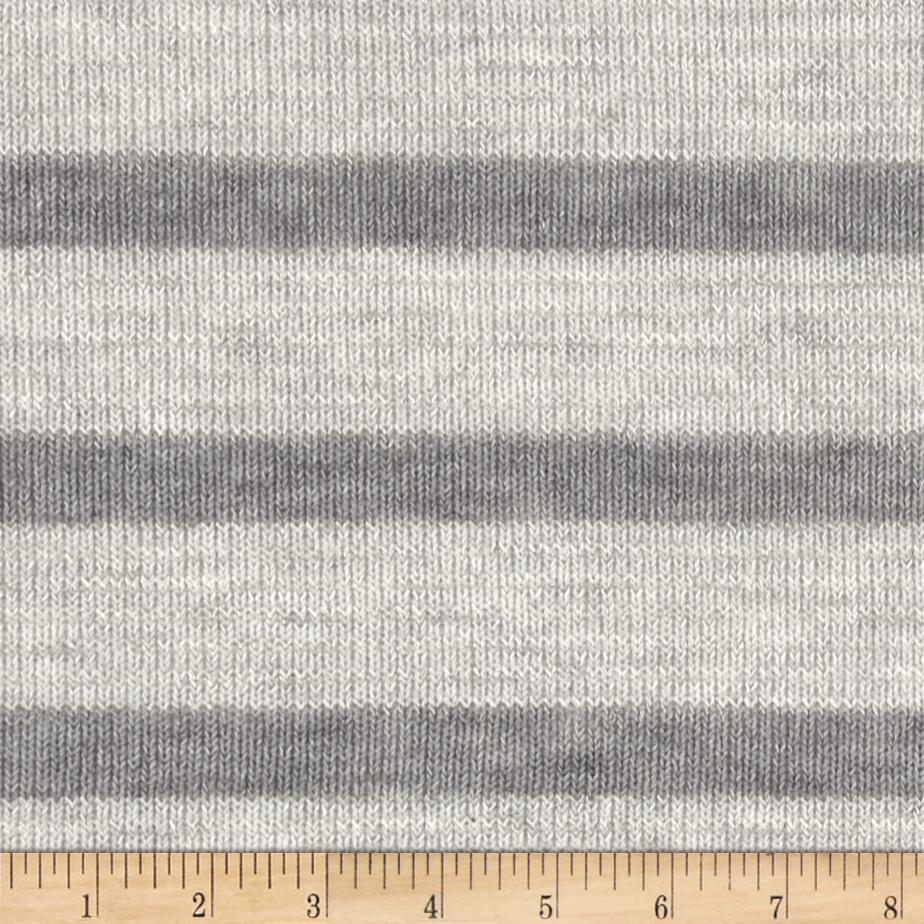 Novelty Sweater Knit Tone on Tone Grey