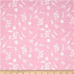 Riley Blake Floriography Branches Pink Fabric