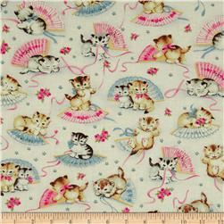Michael Miller Smiten Kittens Cream