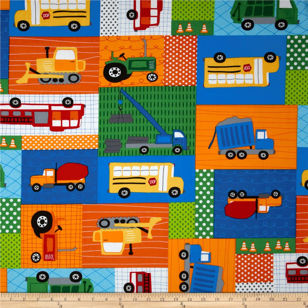 Trucks & Tractors Blocks Primary