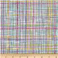 Timeless Treasures Field Study Plaid Multi