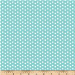 Riley Blake Little Ark Dot Aqua