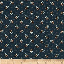 Jo Morton Reflections Star Flower Dark Blue