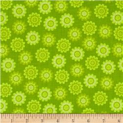 Let's Play Dolls Small Flower Lime