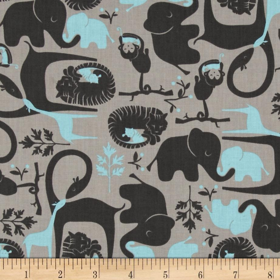 Imaginarium Jungle Jumble Blue Gray