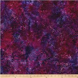 Wilmington Batiks Dancing Petals Purple/Fuchsia
