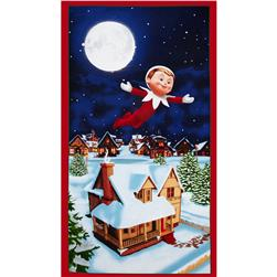 Elf on the Shelf An Elf Story 24 In. Panel Multi