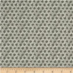 By the Sea Bay Landing Net Charcoal Fabric