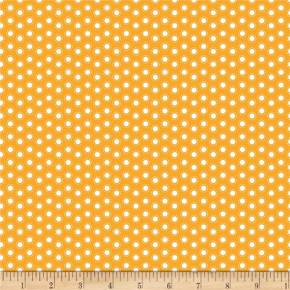 Riley Blake Little Ark Dot Orange
