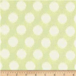 Heather Bailey Momentum Rayon Challis Threaded Dot Grey