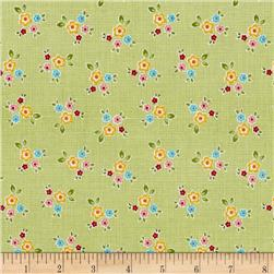 Riley Blake Bloom & Bliss Floral Green