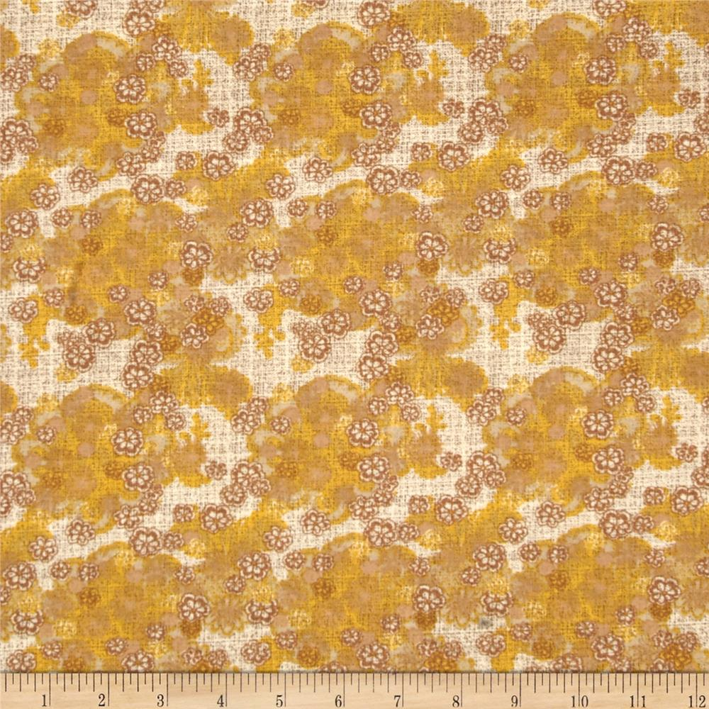 Armenia Small Tossed Floral Cream