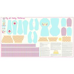 Riley Blake Sweet Home Panel Blue