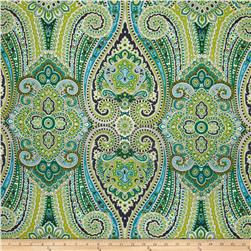 Waverly Paisley Pizzazz Sateen Peacock