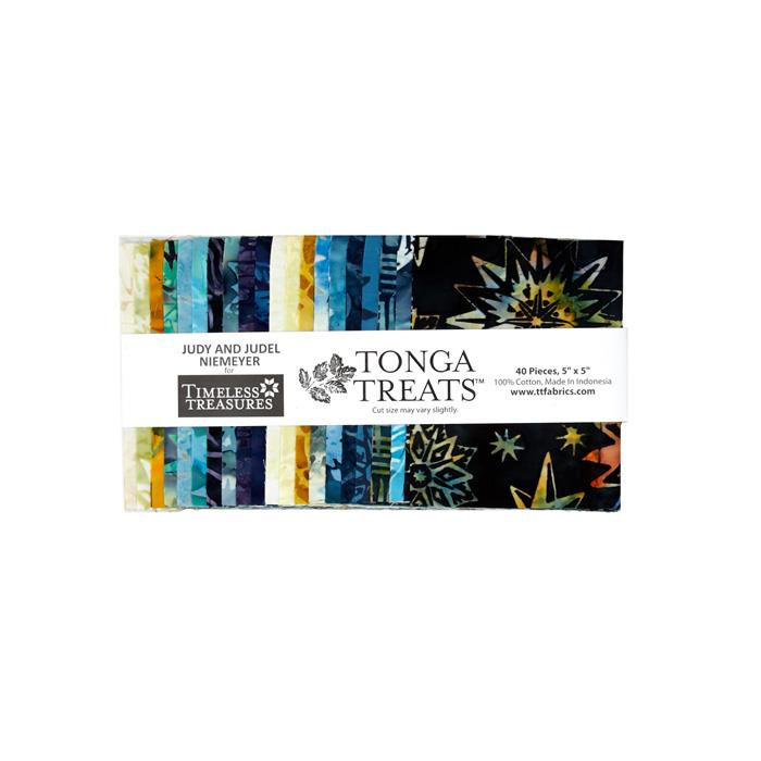 "Timeless Treasures Batiks 5"" Charm Packs Lakeshore"