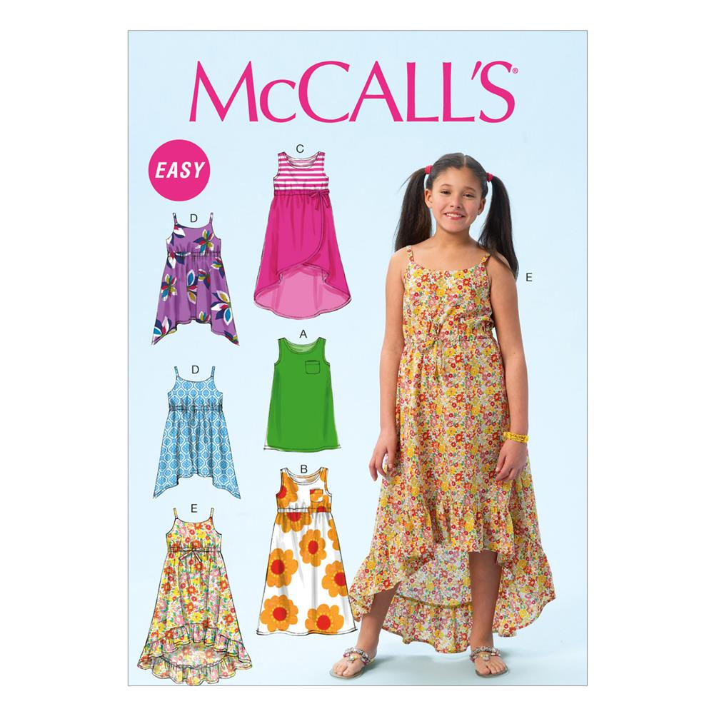 McCall's Children's/Girls' Dresses Pattern M6948 Size CCE