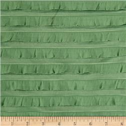 Mini Ruffle Knit Green