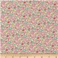 Liberty of London Classic Tana Lawn Betsy Ann White/Light/Pink