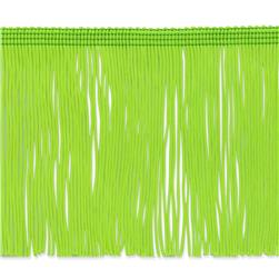 4'' Chainette Fringe Trim Lime