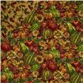 Golden Harvest Metallic Double Sided Quilt Multi