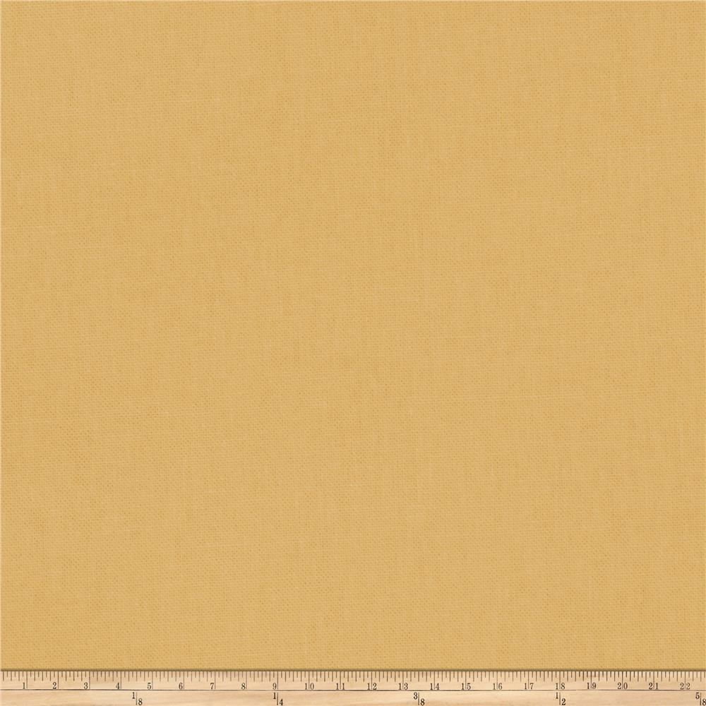 Fabricut Principal Brushed Cotton Canvas Daffodil