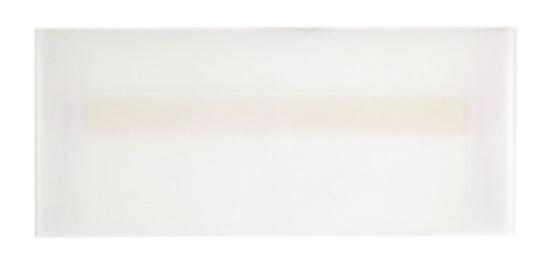 DCWV Long Clear Vellum Envelopes, 10/PK