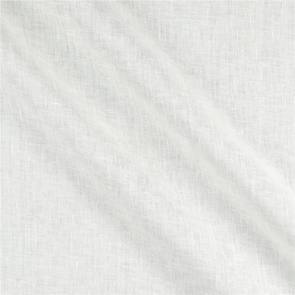 100% Linen 4.5 oz White Fabric