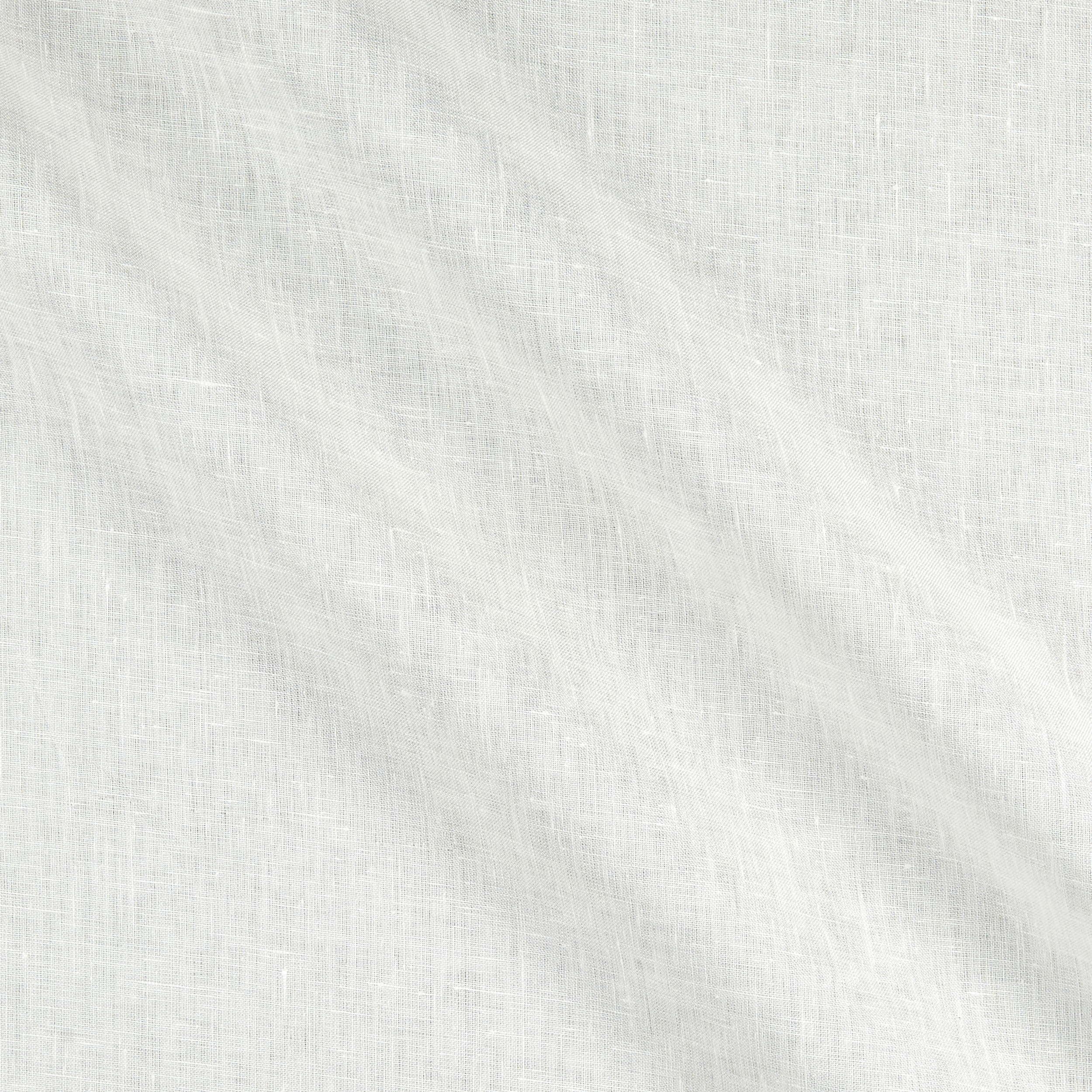 Image of 100% Linen 4.5 oz White Fabric