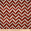 Premier Prints Zig Zag Pewter/Red