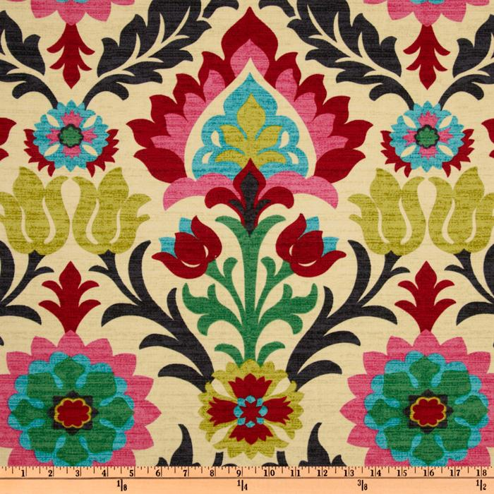 Lovely Waverly Santa Maria Desert Flower   Discount Designer Fabric   Fabric.com