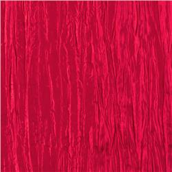 Creased Taffeta Red