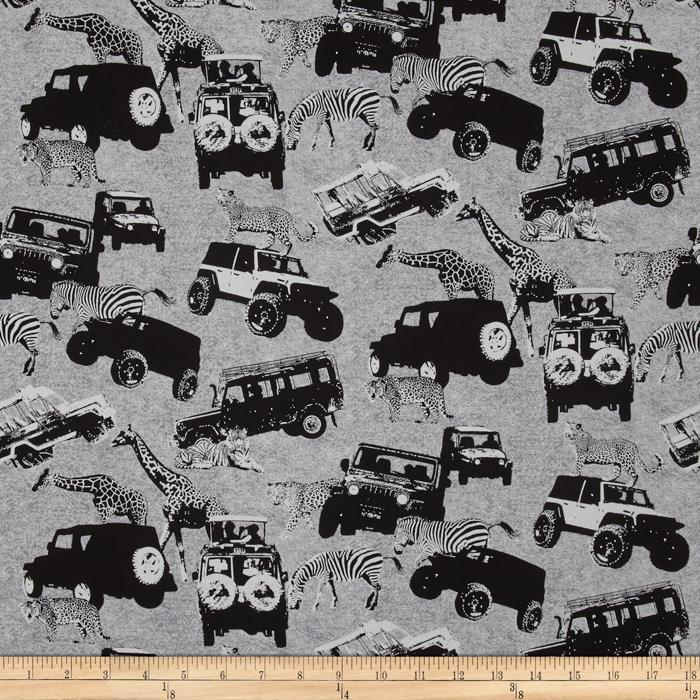 Serengeti Jeep Grey