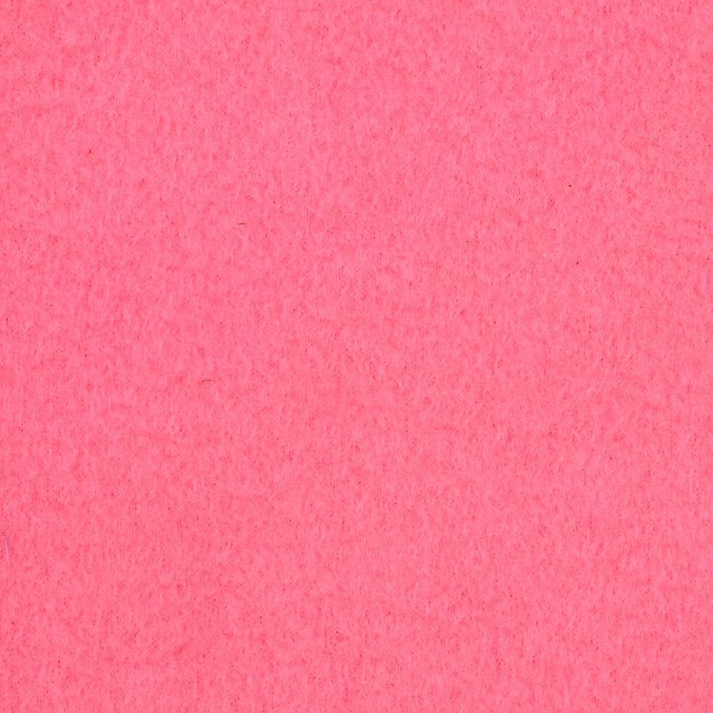 Warm Winter Fleece Solid Hot Pink Fabric