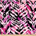 Polar Fleece Print Aberdeen Pink