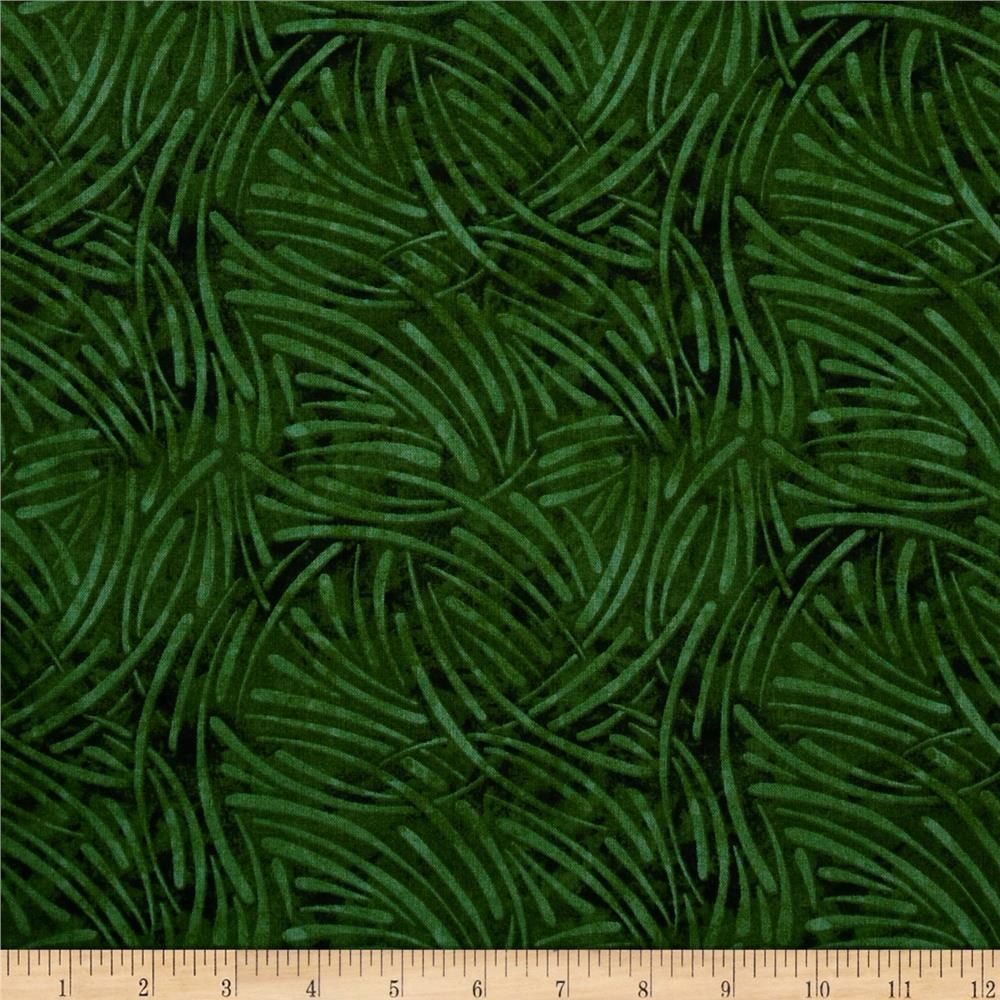 "108"" Wide Essentials Quilt Backing Chopsticks Green"