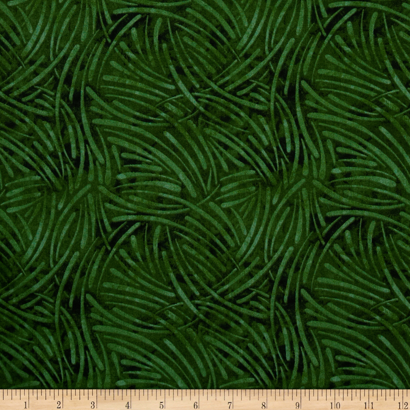 108'' Wide Essential Quilt Backing Chopsticks Green Fabric