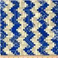 American Beauty Bandana Stripe Blue
