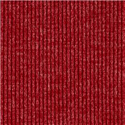 Telio Melange Rib Knit Red