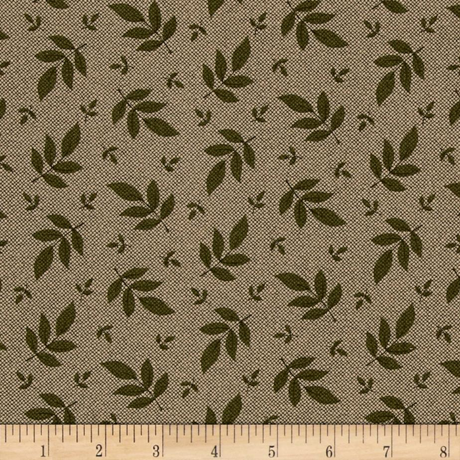 Hannah's Heritage Medium Leaves Brown/Green
