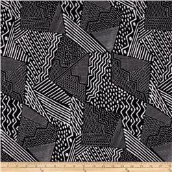 Sketchbook Geometric Patch Black