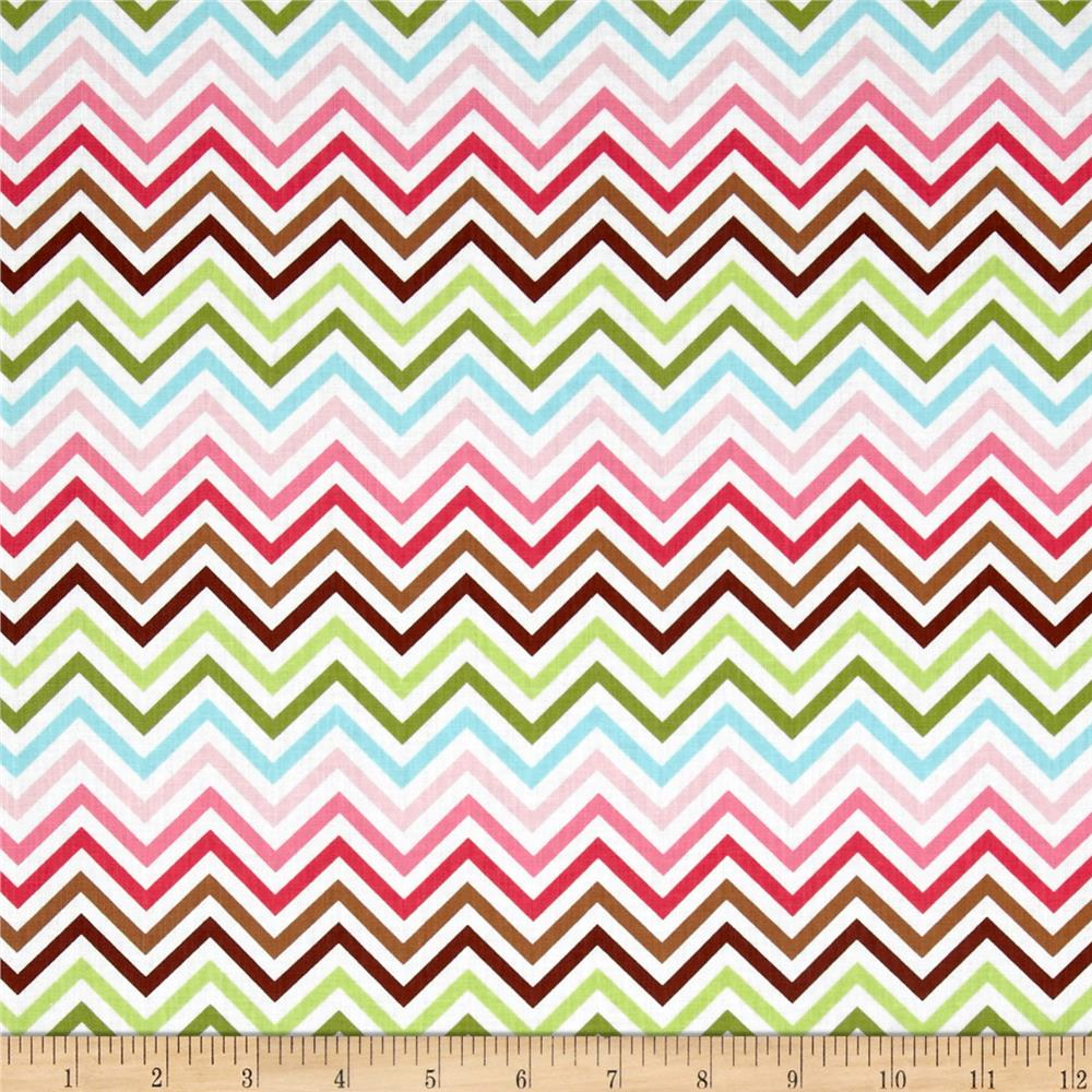 Remix Zig Zag Garden Chocolate/Multi