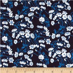 Liberty Lifestyle Stile Collection Lowke Navy/Ivory