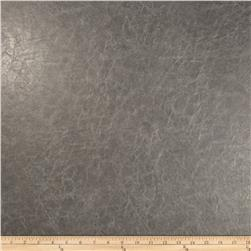 Richloom Faux Leather Distressed Schwimmer  Charcoal
