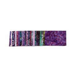 Batavian Batiks Jewels Purple Reign Strips