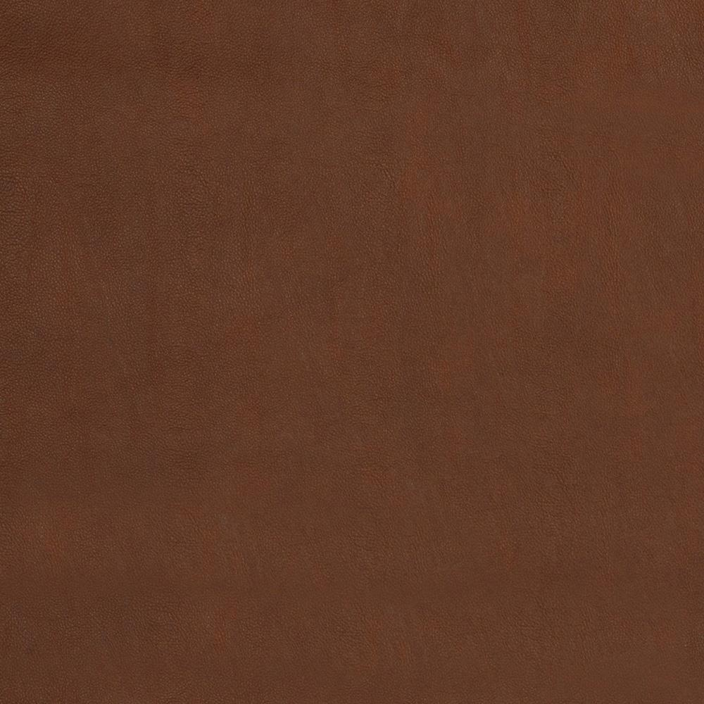 Fabricut Flannel-Backed Faux Leather Amwell Cedar