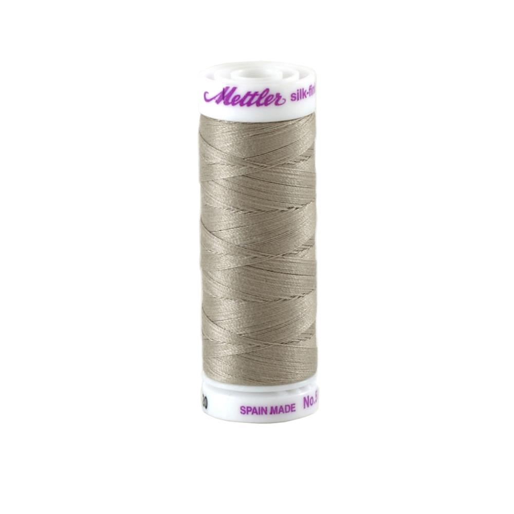 Mettler Cotton All Purpose Thread 3-ply 50wt 164YDS Yeast Grey
